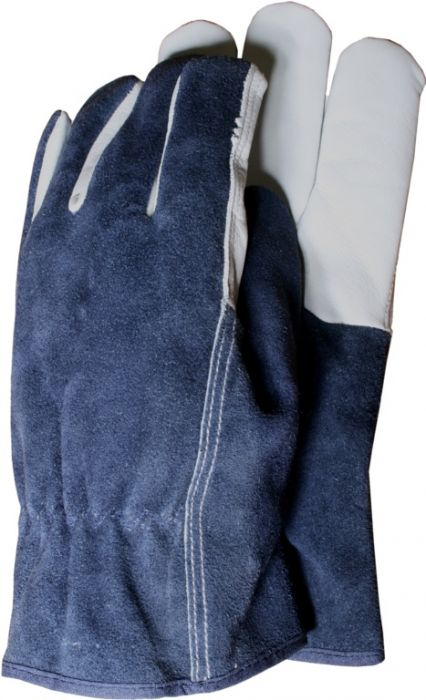 Town & Country Premium Leather And Suede Gloves Large Large