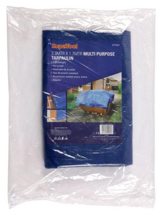 Supatool Tarpaulin 2.3M X 1.7M