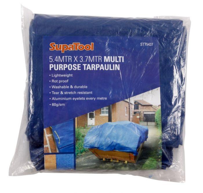 Supatool Tarpaulin 5.4M X 3.7M