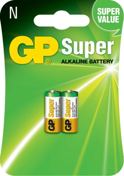 Gp Super Alkaline Batteries Pack 2