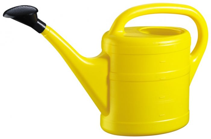 Green Wash Essential Watering Can 10L Yellow