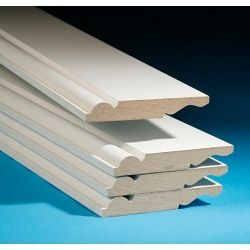 Cheshire Mouldings Primed Mdf Torus/Ogee Skirting 18 X 119 X 2.4M