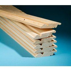 Cheshire Mouldings Torus/Ogee Reversible Skirting 4 Pack 19Mm X 145Mm X 2.4M