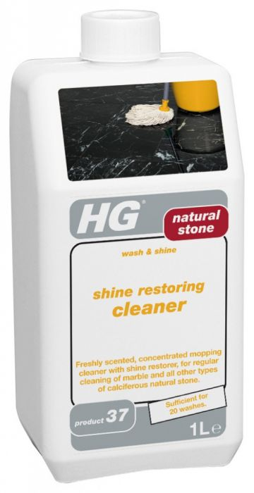 Hg Natural Stone Wash & Shine 1Lt