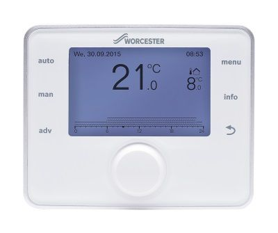 Bosch Worcester Sense II advanced weather compensation controller