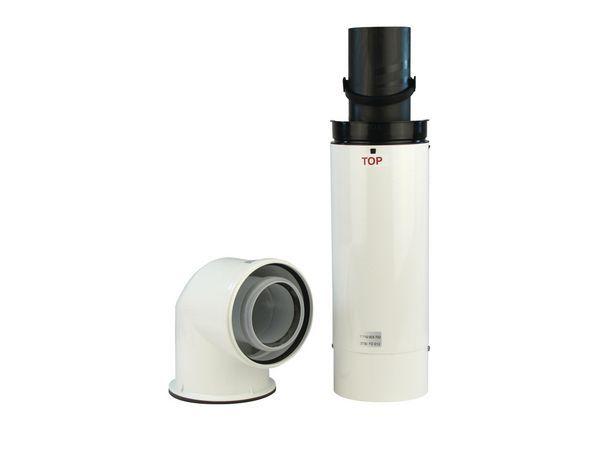Worcester Greenstar high efficiency telescopic flue kit 125mm