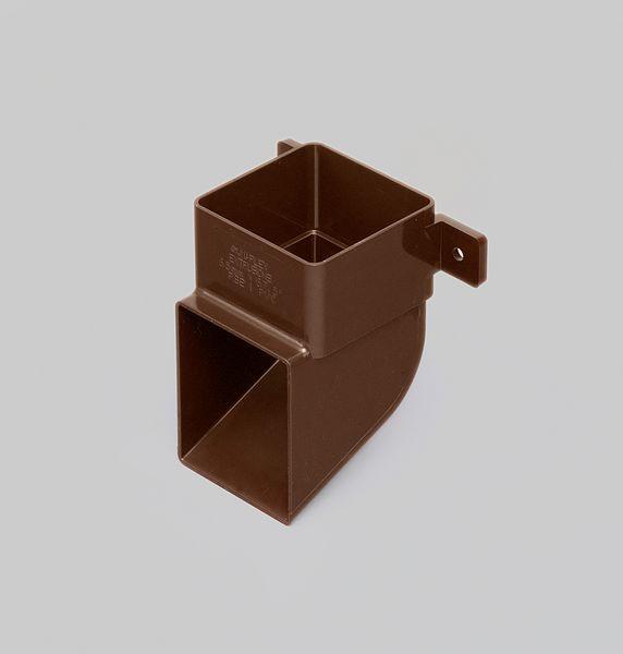 BUDERUS 60/100 90 DEG BEND PLASTIC