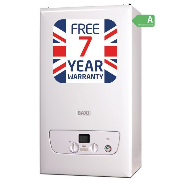 Baxi 615 system boiler natural gas