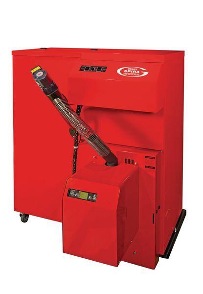 Grant Spira right hand boiler 110kg hopper 26kw