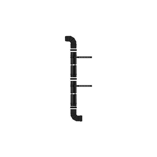 Grant Yellow System plume diverter kit 1000mm 12-26kw Black