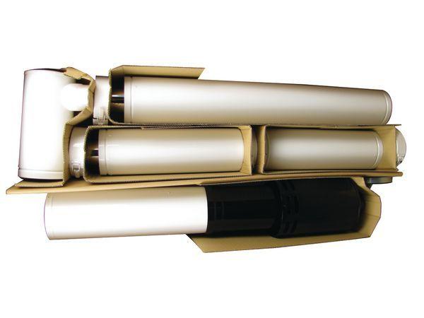 Grant adjustable vertical balanced flue kit (for 12 26KW boilers) 3mtr
