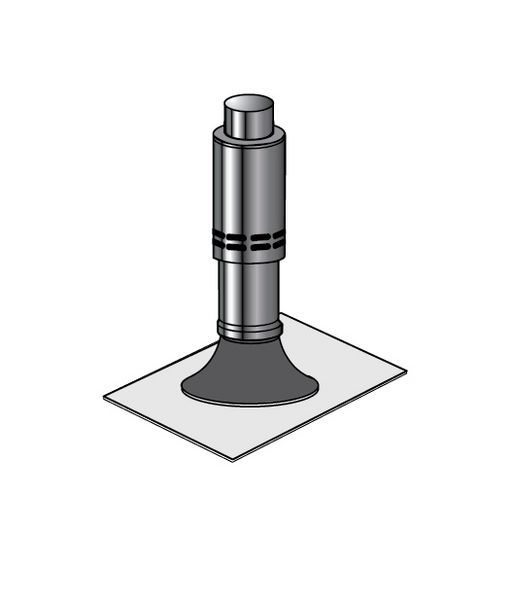 Grant vertical balanced flue flat roof flashing (for 12 26KW boilers)