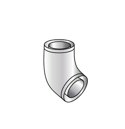 Grant high level vertical flue elbow (for 26 70KW boilers)