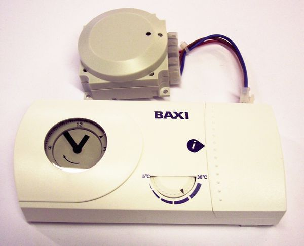 Baxi radio frequency wireless room thermostat