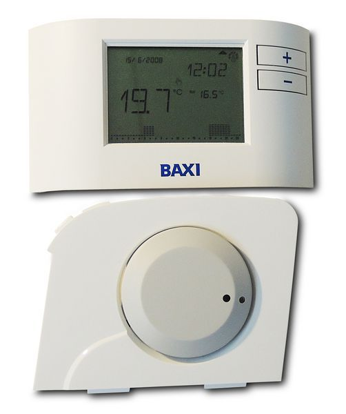 Baxi radio frequency wireless digital programmable room thermostat