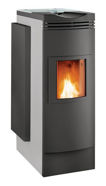 Windhager FireWIN Exklusiv hand feed boiler/stove 3.8/9kW