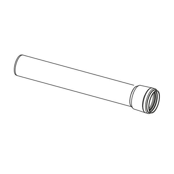 Ideal high-level flue extension kit 1mtr