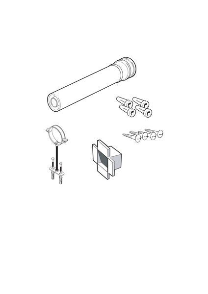 Ideal Pack-D high efficiency flue extension
