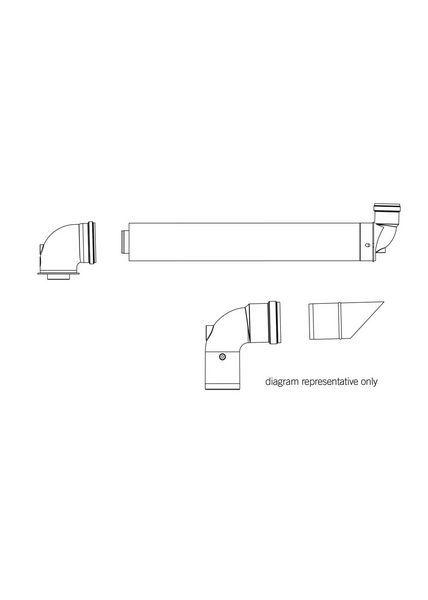 Ideal high-level flue outlet kit