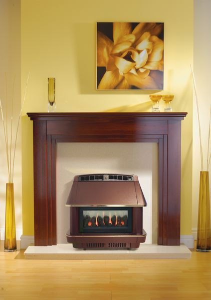 Robinson Willey Firecharm [deleted] living flame effect natural gas fire Bronze