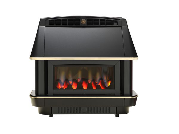 Dimplex Robinson Willey Firecharm [deleted] room sealed natural gas fire Black