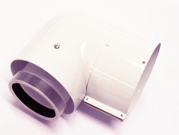Vaillant 87deg high efficiency elbow 125mm