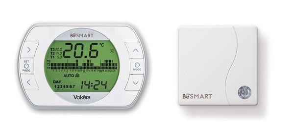 Vokera BeSMART thermostat and wifi box