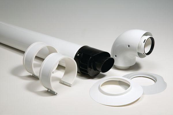 Vokera Evolve standard horizontal flue kit 60/100mm