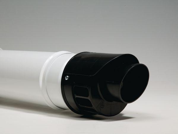Vokera Evolve telescopic horizontal flue kit 60/100mm
