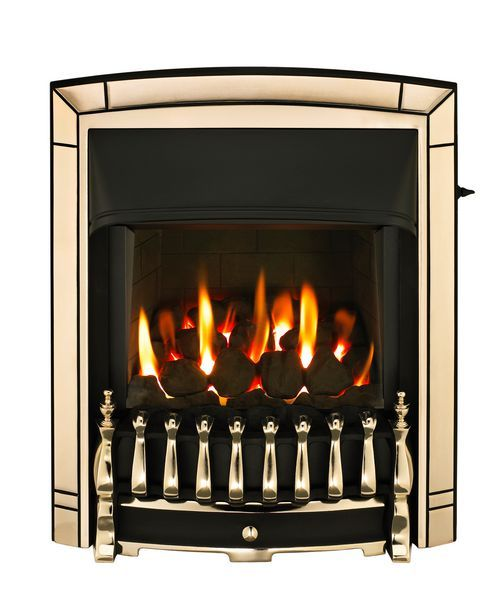 Dimplex Valor Homeflame Dream high efficiency natural gas fire Gold