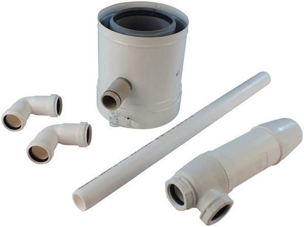 Andrews 100/150 syphon kit comes with condensate trap
