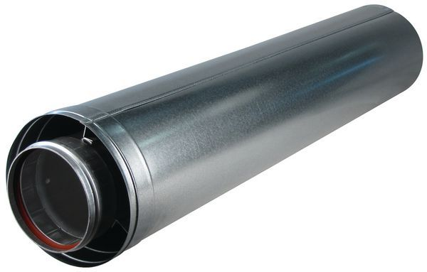 Baxi Andrews cuttable flue pipe (for MAXXFLO/CSC) 1mtr