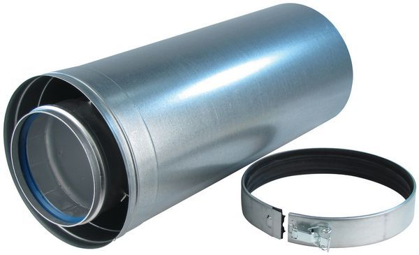 Baxi Andrews flue pipe (for MAXXFLO/CSC) 500mm