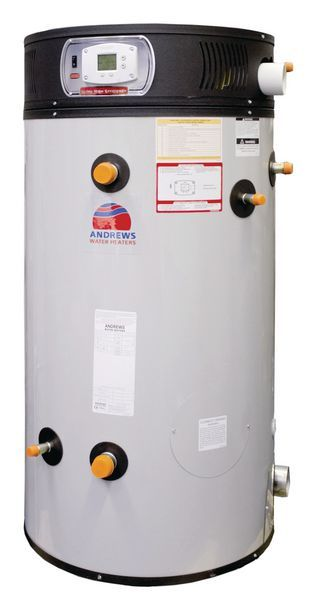 Andrews Water Heaters ECOflo EC380/740 wall hung natural gas condensing water heater