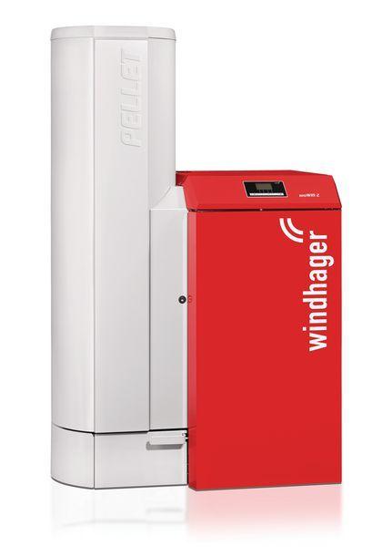 Windhan Windhager BioWIN XL pellet boiler 35kW