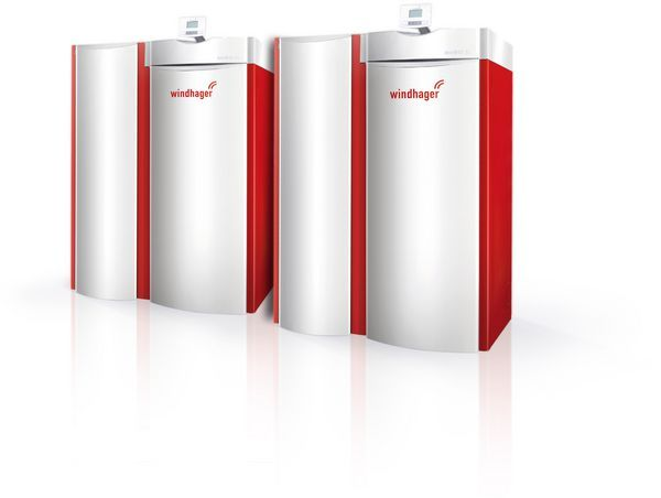 Windhager BioWIN Kaskade boiler system 70kW
