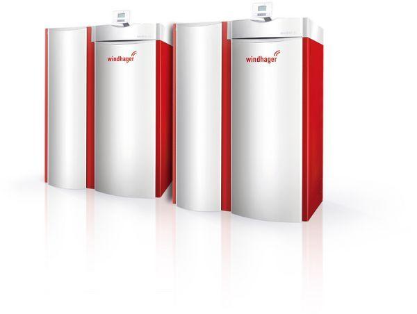 Windhan Windhager BioWIN Kaskade boiler system 90kW
