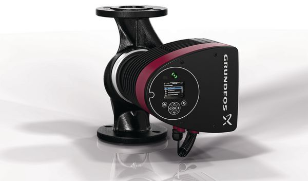 Grundfos Magna3 40-120 F N 250 hot water circulating pump PN6/10