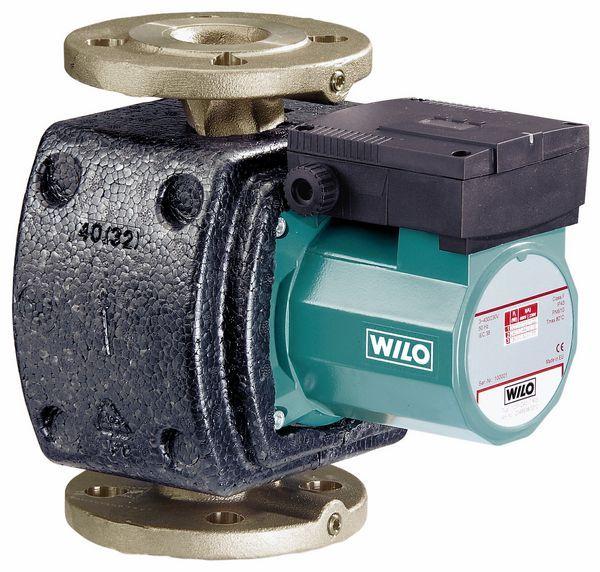 Wilo Top Z40/7 1 phase hot water bare pump bronze