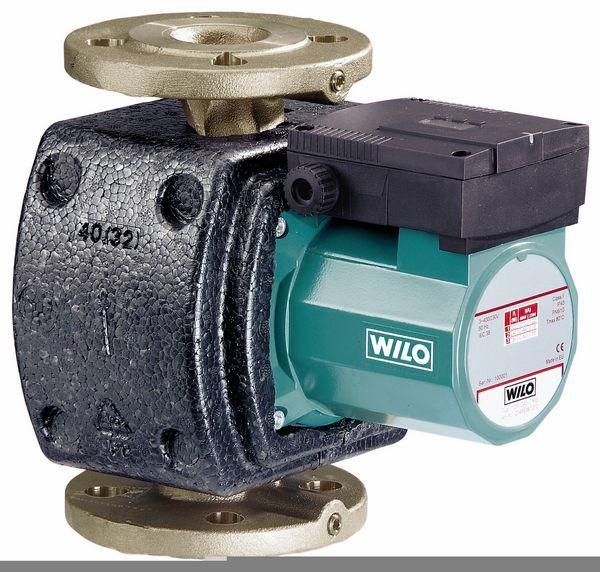 Wilo Z25/10 1 phase hot water bare pump bronze