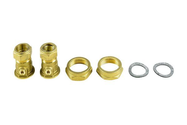 Grundfos union valve set 22mm 1 1/4