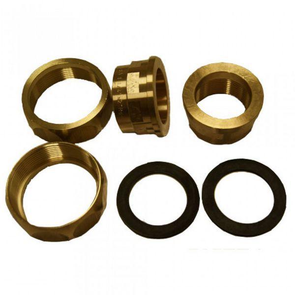 Grundfos brass union set 3/4