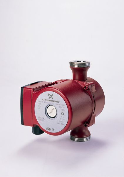 Grundfos UP 20-15N 1 phase hotwater system circulating pump no fittings