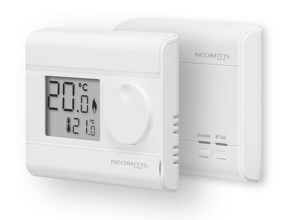 Neomitis RT0RF wireless digital room thermostat