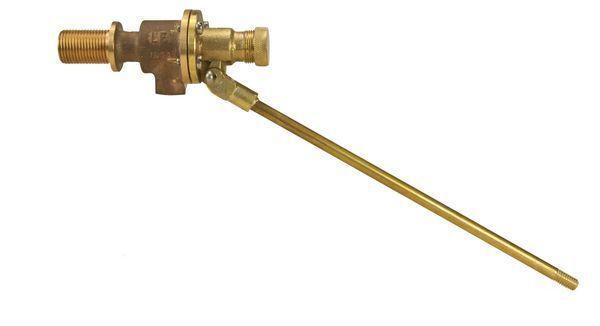 Masefield equilibrium ball valve (bsp) 1.1/2 Gun Metal