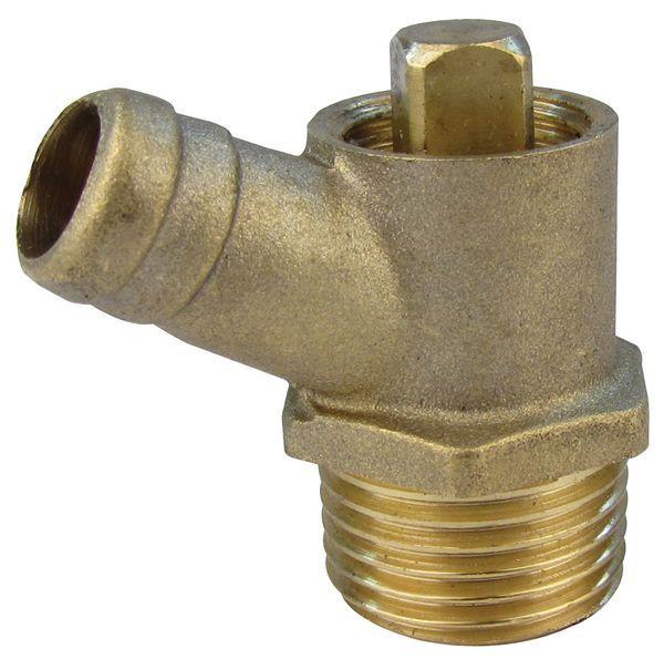 Pegler Yorkshire Prestex 834 drain cock 1/2 Brass