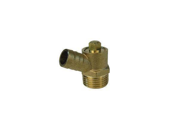 Midland Brass brass screwed drain cock (Type-B) 1/2