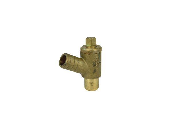 Midbras Midland Brass brass plain shank drain cock (Type-A) WRAS 15mm