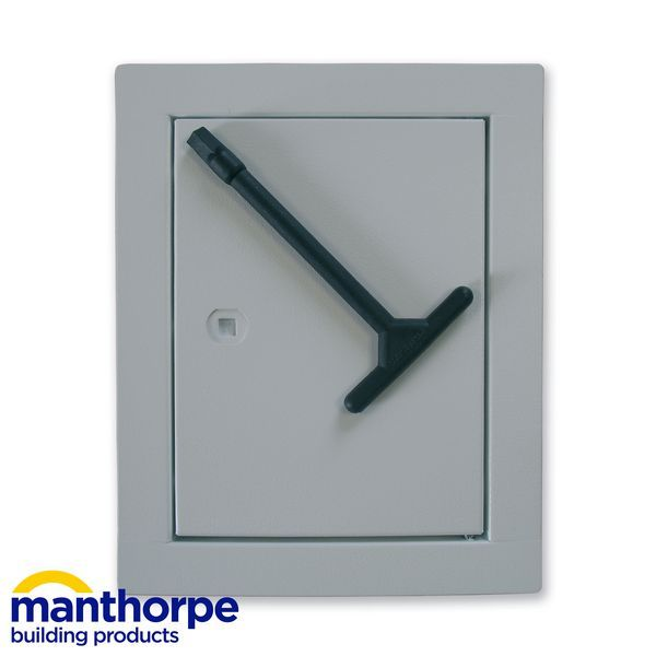 Manthorpe 1-hour fire rated access panel 150 x 150mm