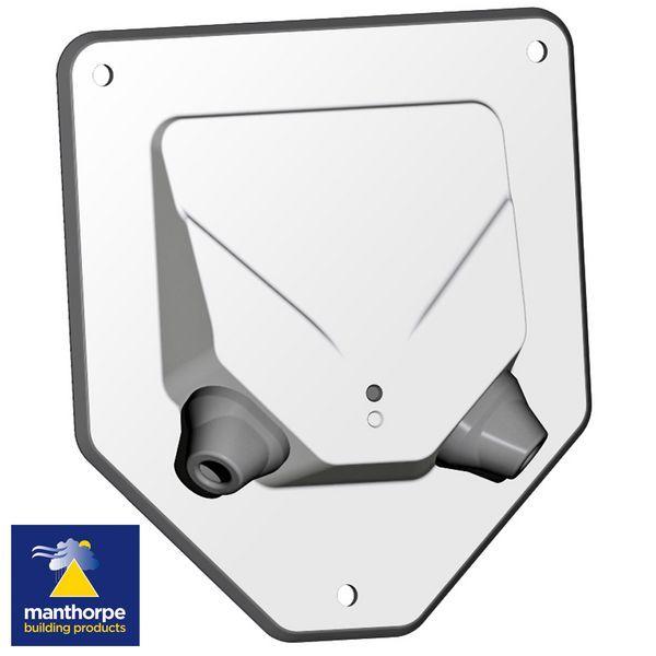 Manthorpe radiator pipe guide seal 10mm